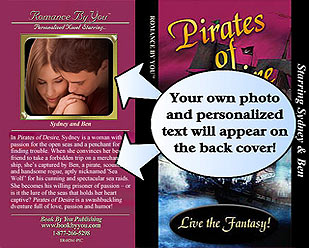 Example of Customized Photo on Book Cover