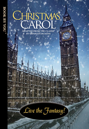 A Christmas Carol - a personalized classic book.
