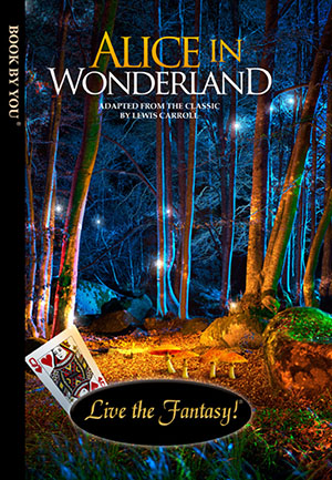Alice in Wonderland - a personalized classic book.