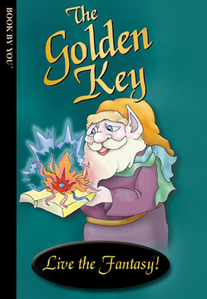 The Golden Key - a personalized childrens book.