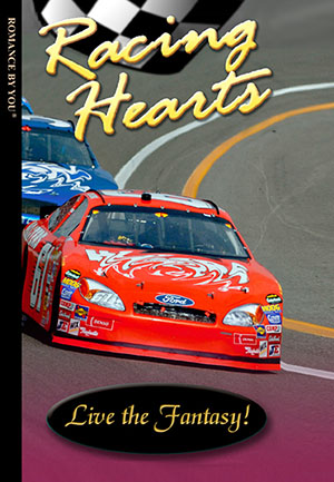 Racing Hearts - a personalized romance book.