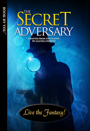 The Secret Adversary - a personalized classic book.
