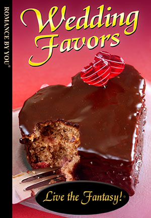 Wedding Favors - a personalized romance book.