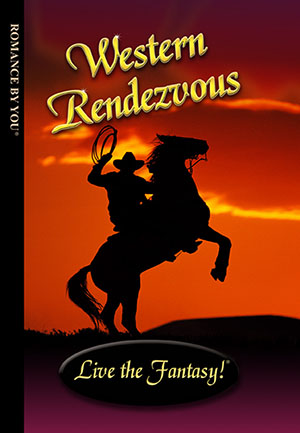 Western Rendezvous - a personalized romance book.