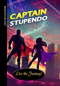 Learn more about our unique book, Captain Stupendo.