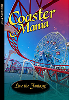 Thumbnail image of front book cover - Coaster Mania.