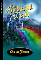Thumbnail image of front book cover - The Enchanted Castle.