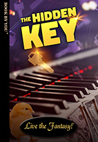 Thumbnail image of front book cover - The Hidden Key.