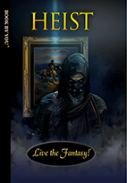 Thumbnail image of front book cover - Heist.