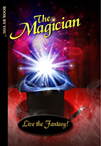 Thumbnail image of front book cover - The Magician.