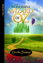 Thumbnail image of front book cover - The Wizard of Oz.