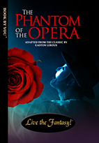 Thumbnail image of front book cover - Phantom of the Opera.