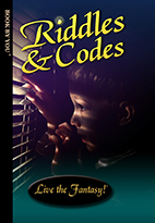 Thumbnail image of front book cover - Riddles and Codes.