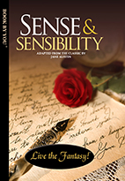 Thumbnail image of front book cover - Sense and Sensibility.