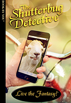 Thumbnail image of front book cover - The Shutterbug Detective.