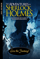 Thumbnail image of front book cover - Sherlock Holmes.