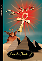 Thumbnail image of front book cover - The Amulet.