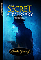 Thumbnail image of front book cover - The Secret Adversary.