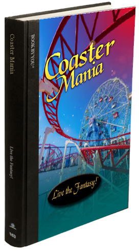 Hardcover Edition of Coaster Mania