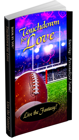 Paperback Edition of Touchdown for Love