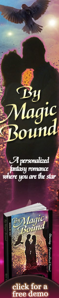 Personalized Fantasy Romance Novel - By Magic Bound