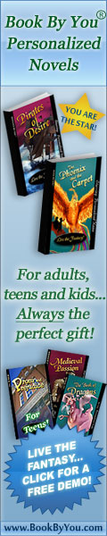 Book By You Personalized Novels for Adults, Teens and Kids