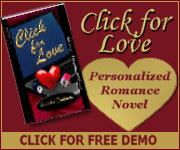 Personalized Romance Novel - Click for Love