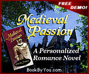 Personalized Medieval Romance Novel - Medieval Passion