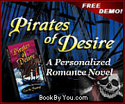 Personalized Pirate Romance Novel - Pirates of Desire!