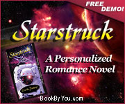 Personalized Science Fiction Romance Novel - Starstruck!