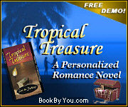 Personalized Romance Novel - Tropical Treasure