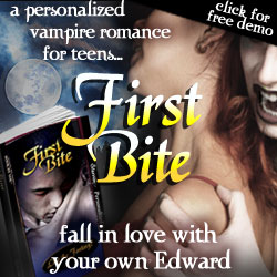 Personalized Vampire Romance Novel for Teens - First Bite
