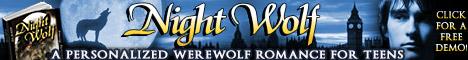 Personalized Werewolf Romance Teen Novel - Night Wolf