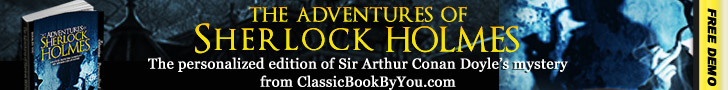 Personalized Sherlock Holmes from Classic Book By You