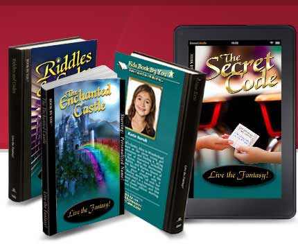 Personalized books for teens & tweens - vampire, werewolves or high school hijinks - fun adventures for all young adults!